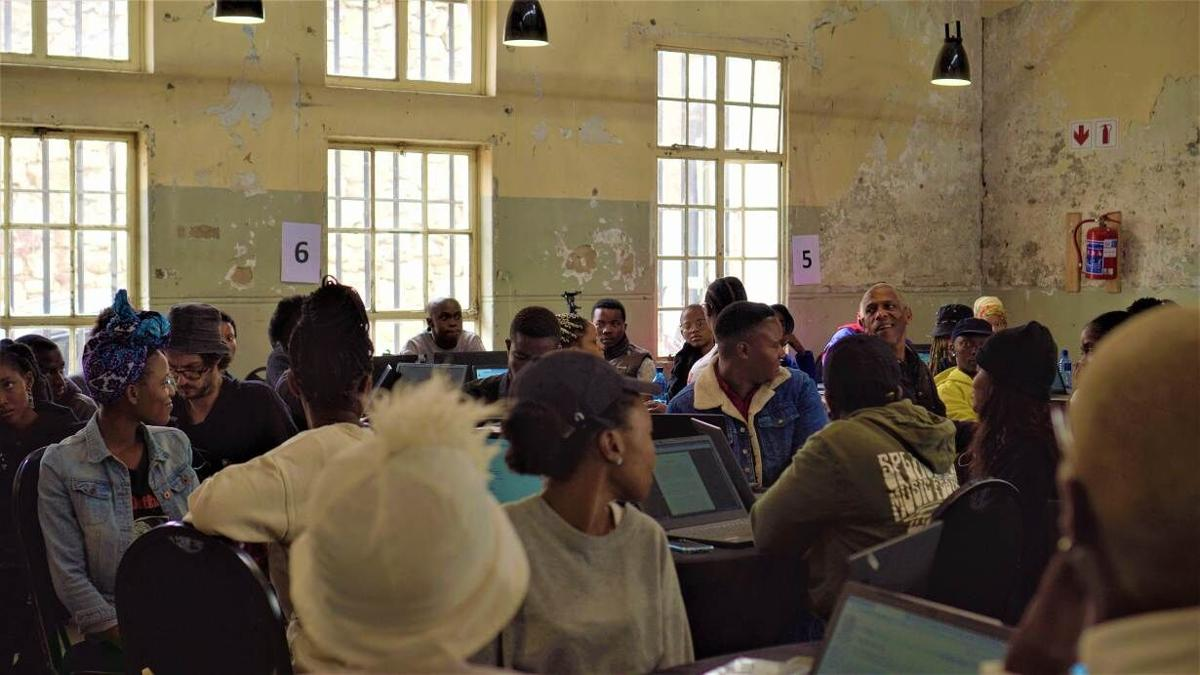 Young Africans go online to preserve local languages, fight COVID-19