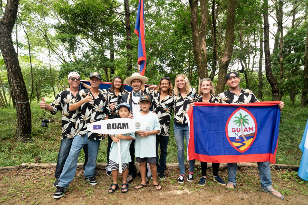 Gogue gives Guam its best run