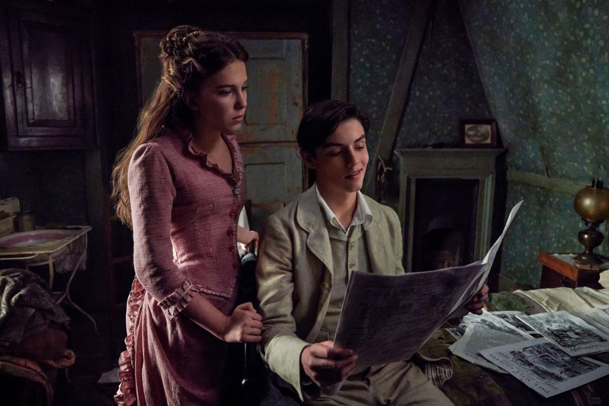 Sherlock who? Millie Bobby Brown is terrific in the clever 'Enola Holmes'