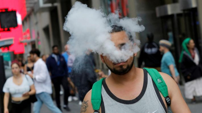 Vapers find relief in ... cigarettes