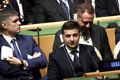 Ukraine leader's corruption fight risks Trump's anger