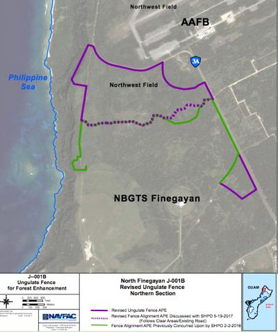 Navy to build Dededo fence across 780 acres