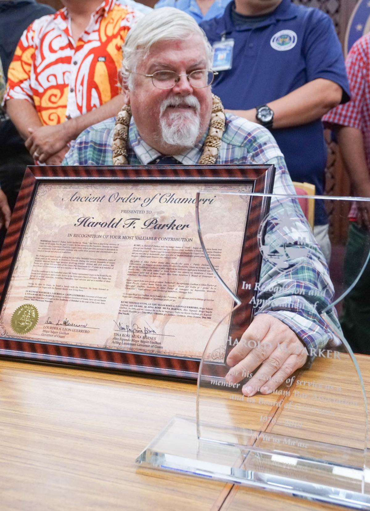 Guam attorney awarded Ancient Order of Chamorri
