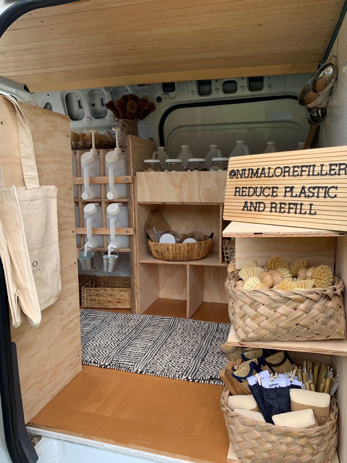 Numa'lo mobile refillery to provide eco-friendly way to buy hygiene products