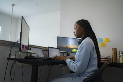 Many Black women felt relieved to work from home, free from microaggressions. Now they're told to come back.