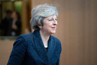 EU rebuffs May's Brexit demand