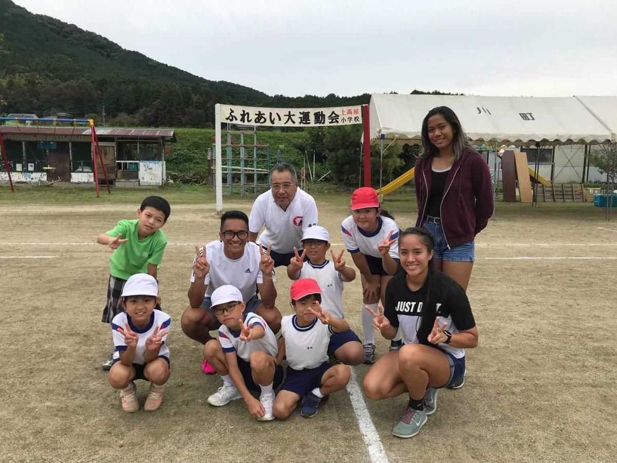 Local athletes gain from Japan experience