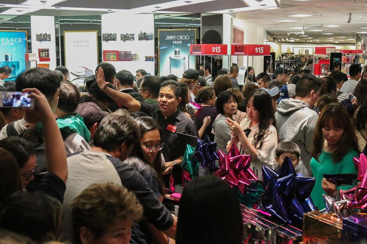 The teen's Black Friday experience