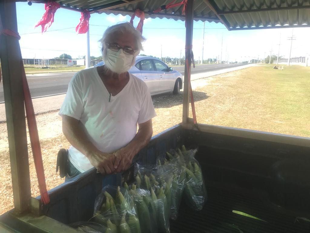 Corn farmer robbed of harvest