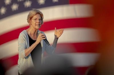Warren pushes for wealthy to pay for SS benefits