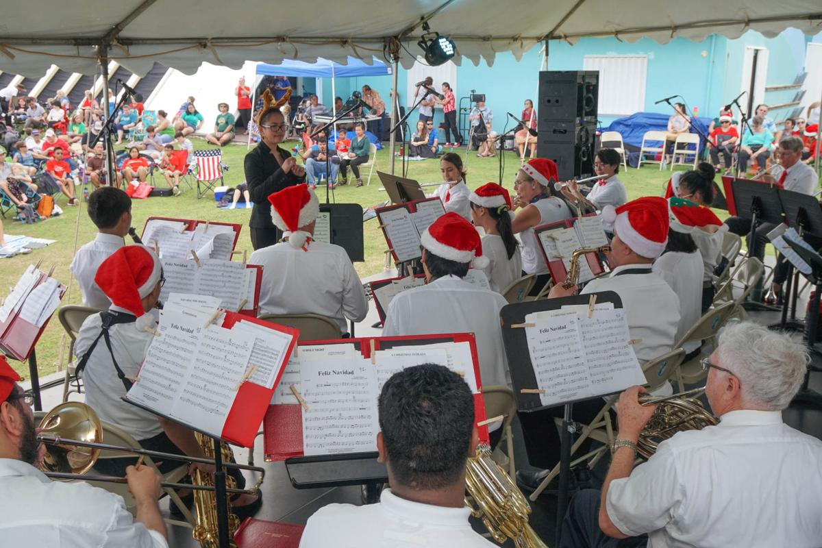 Add music to your holiday season with the Guam Territorial Band