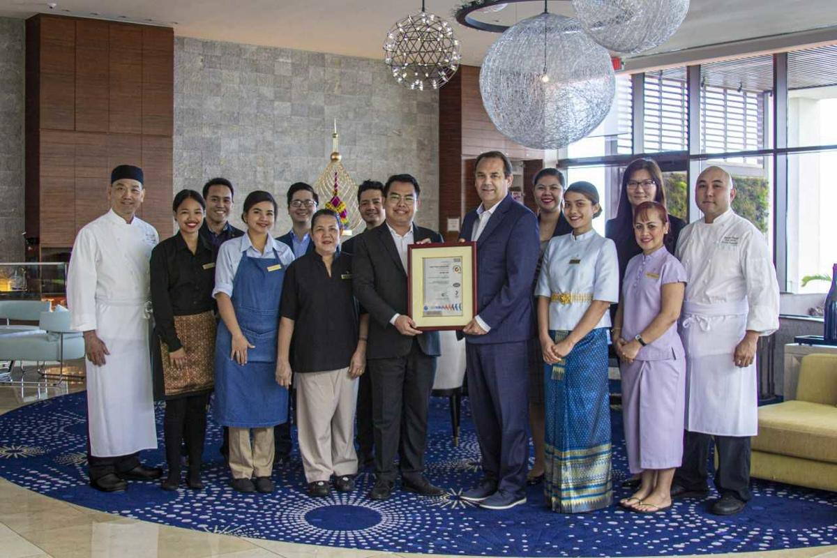 Dusit receives international quality control certification