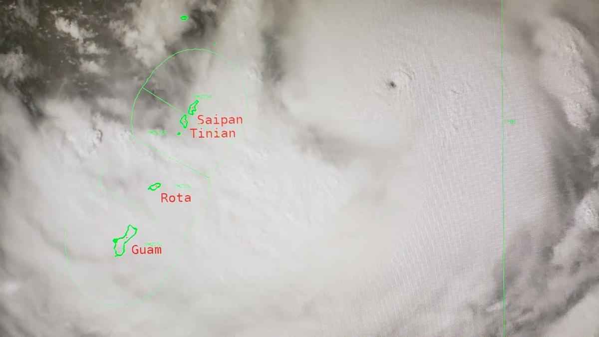 Guam in COR 2; northern, southern, central storm shelters to open