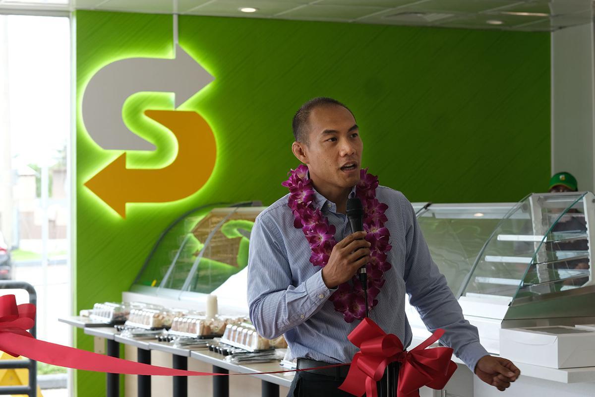 Subway celebrates 30th with 15th Guam shop