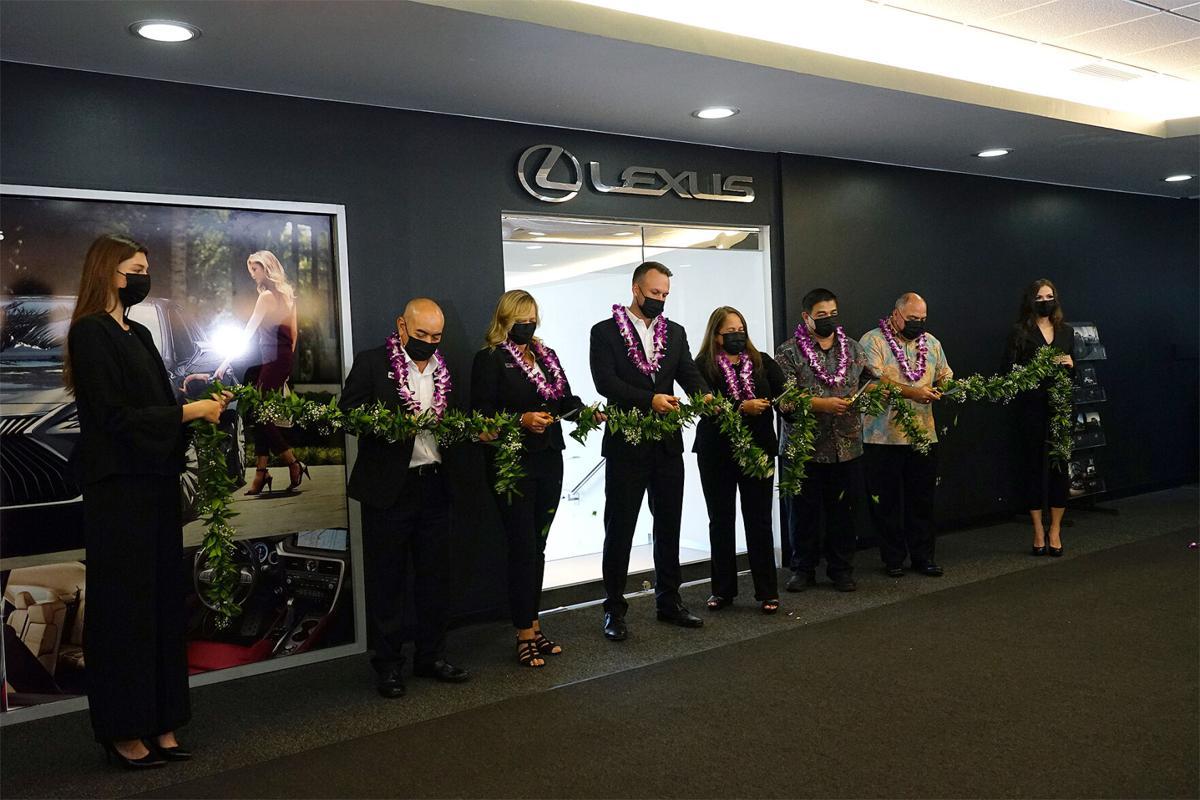 Atkins Kroll holds Lexus showroom grand opening
