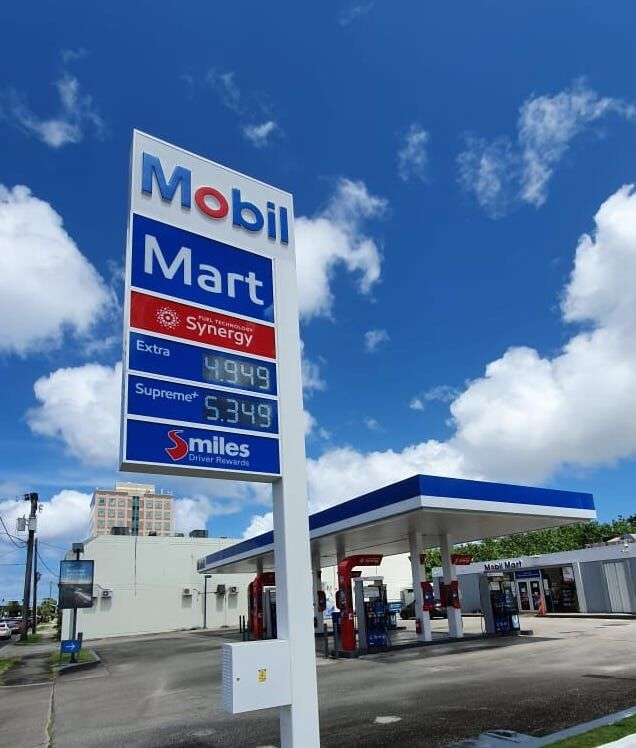 Ouch! Guam gasoline prices rise another 10 cents