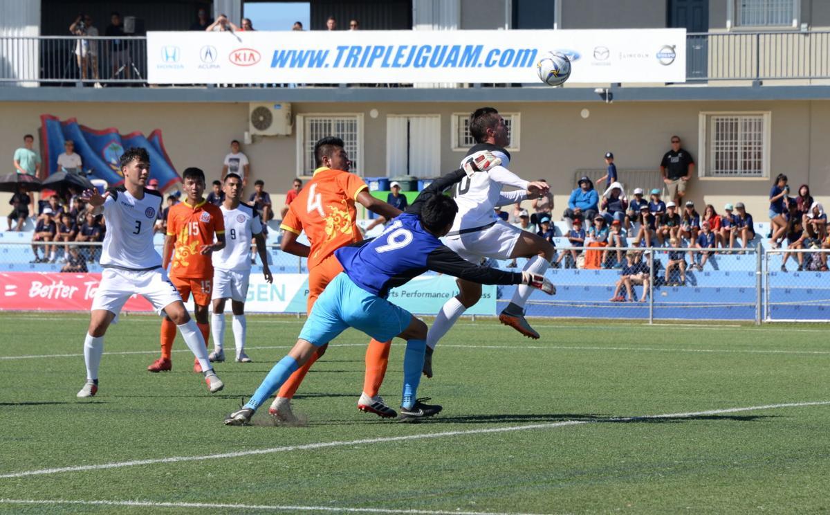 Matao slay Bhutan 5-0