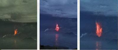 Taal eruption forces RP citizens to seek higher ground