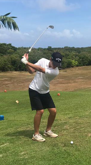 Knights' Lee wins All-Island golf