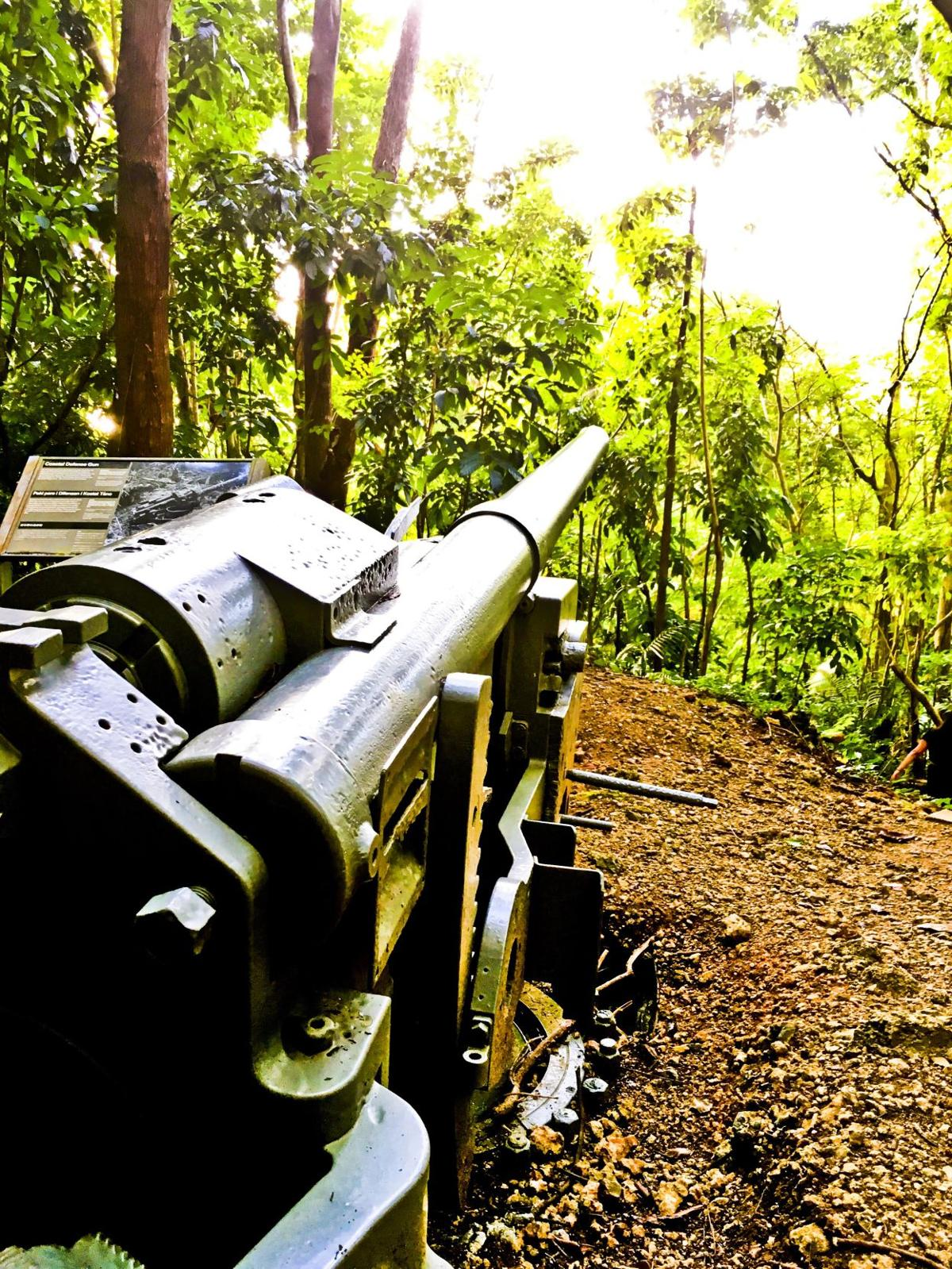 A double dose of Guam history firsthand at Piti Guns and Asan Beach