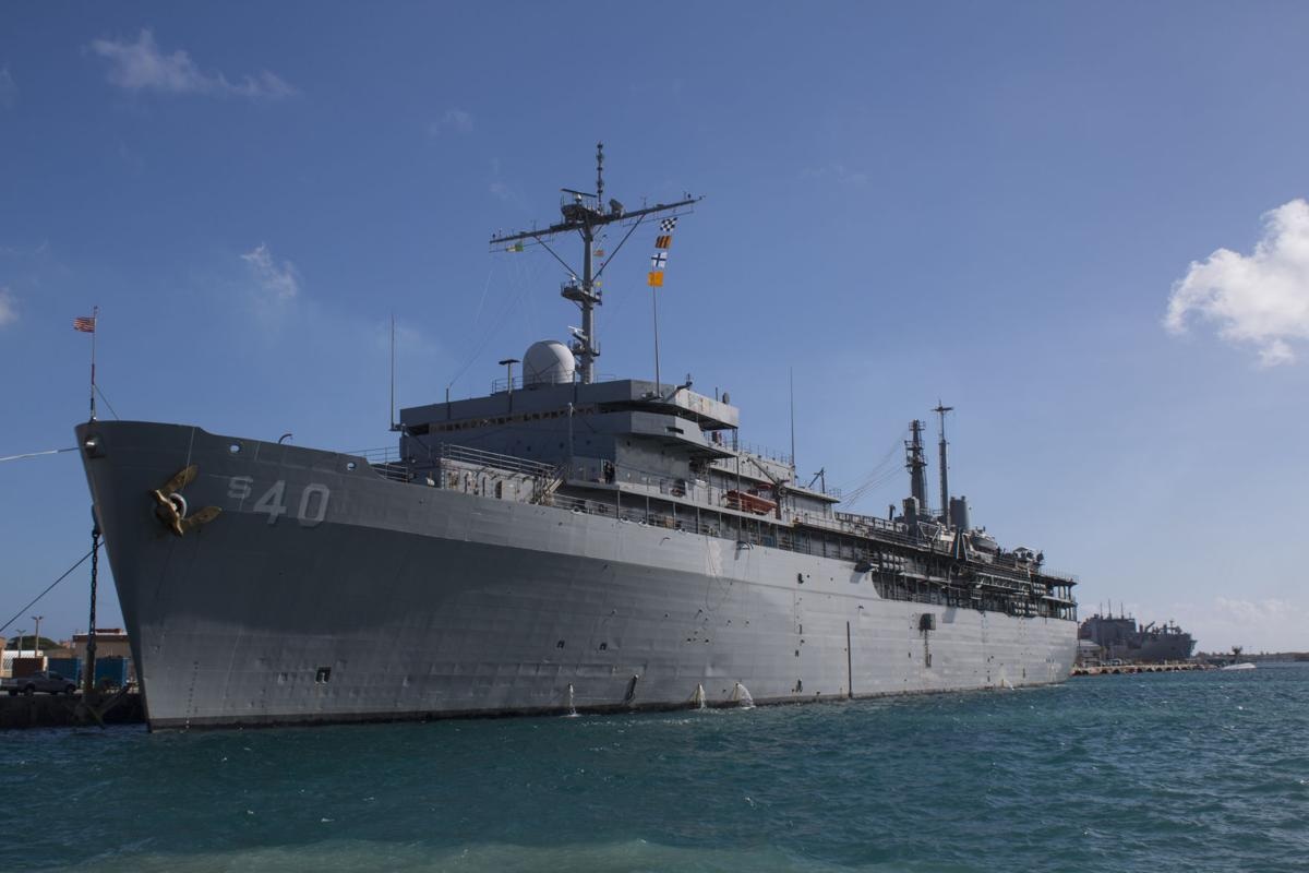Uss Frank Cable Departs Guam For Deployment Guam News