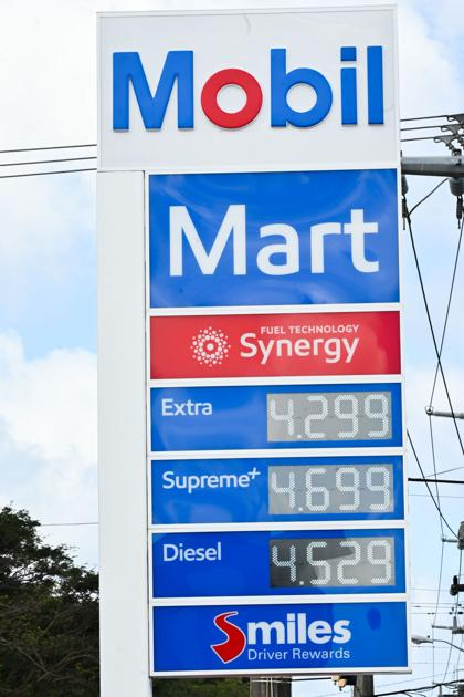 Gas prices hit .30, surpassing 2020 high