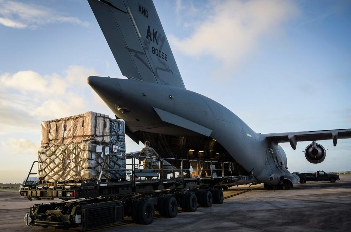 Personnel, equipment arrive at Andersen for COVID-19 support