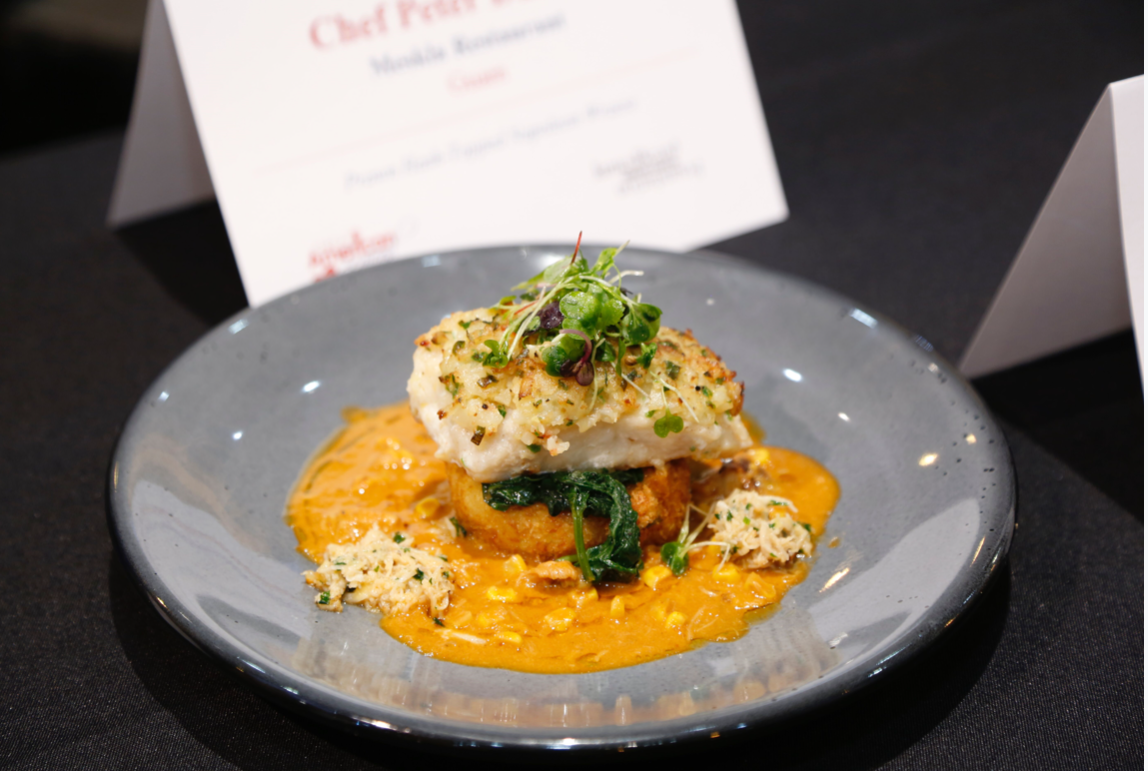 Chef Peter Duenas takes 3rd in Great American Seafood Cook-Off