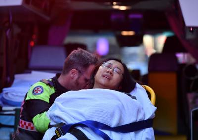 Knife-wielding man goes on Sydney rampage, one woman dead