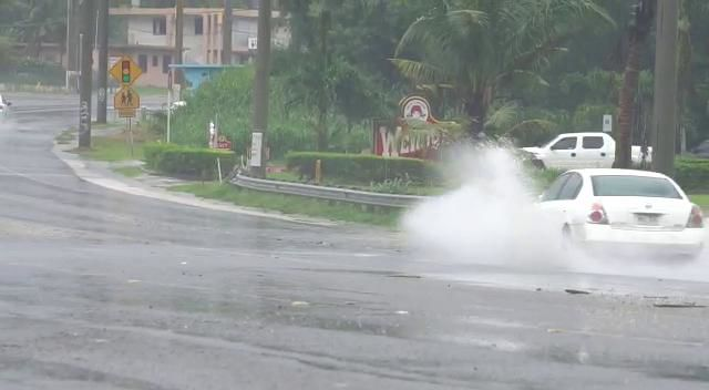 Flooding reported in Dededo, Tumon, Harmon and southern Guam