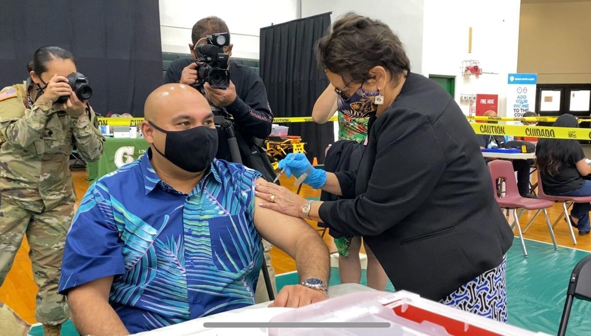 Tenorio confident island will meet vaccine goal