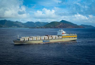 Matson inaugurates massive ship Lurline