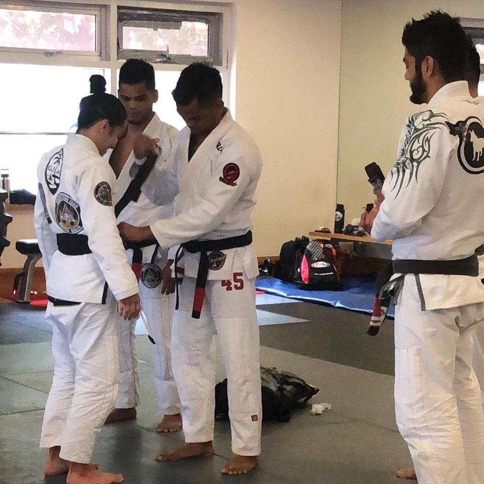 Makela, Thomas earn jiujitsu black belts | Guam Sports