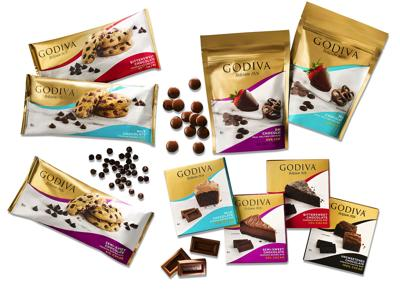 Godiva introduces 3 baking chocolates