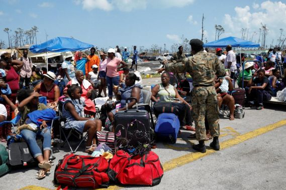 Thousands of Bahamas residents displaced