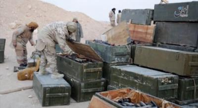 US may target and destroy weapons seized by IS in Palmyra