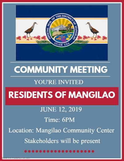 Mangilao town hall will address recent attacks