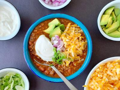 Chili, the way you like it, is the easiest route to dinner