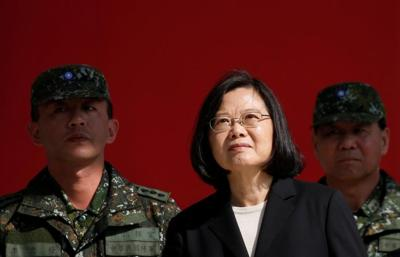 Taiwan lands fighter jets on highway as drills reach peak