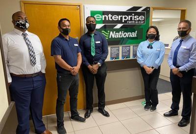 Enterprise opens car rental store at Andersen Air Force Base