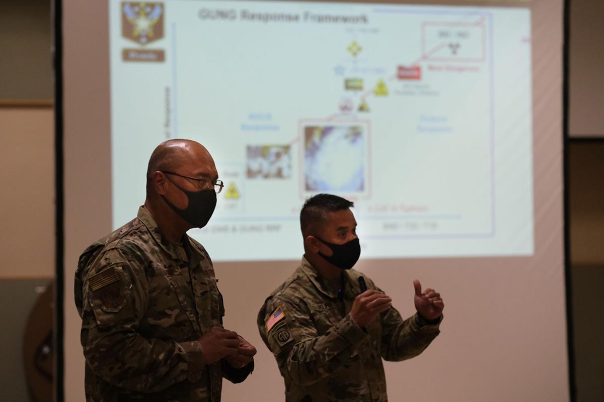Guam Guard talks COVID response