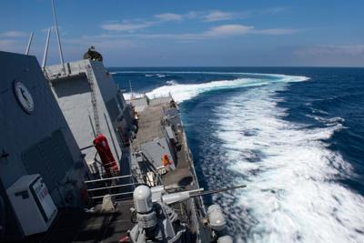 Visiting Navy sailor dies on Guam