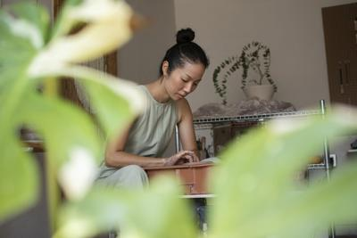 Meet the Korean dancer whose houseplant obsession inspired her new career in ceramics