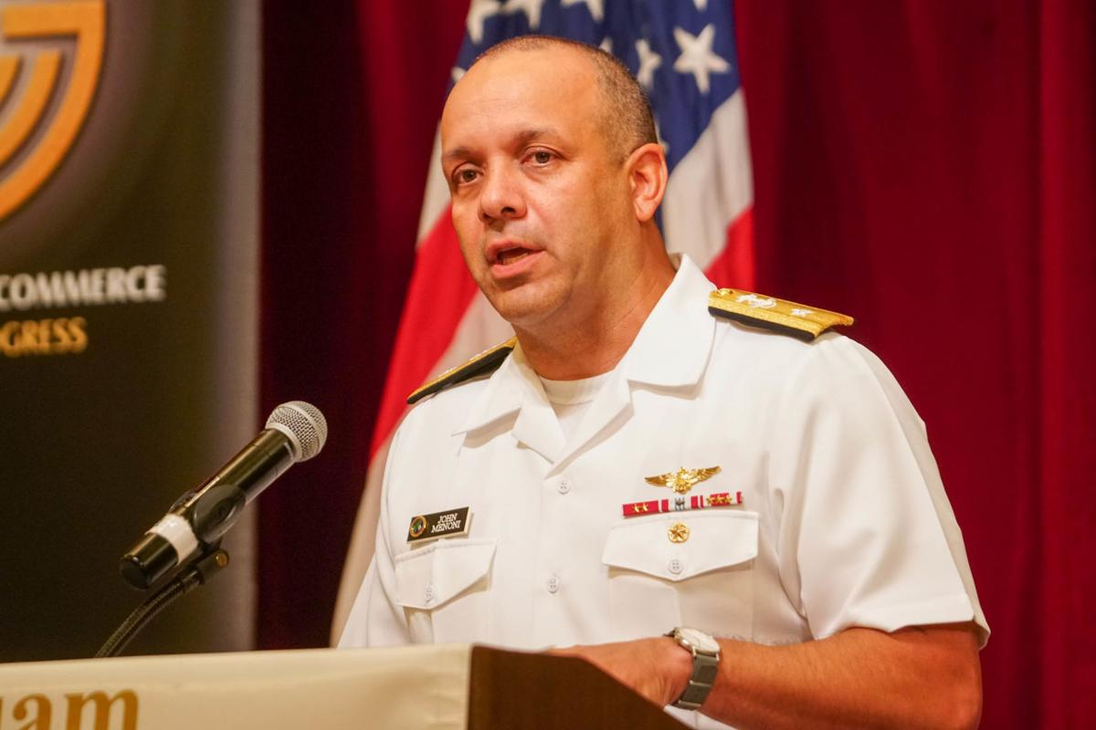 Admiral: We will not devolve into an 'us' versus 'them' distinction