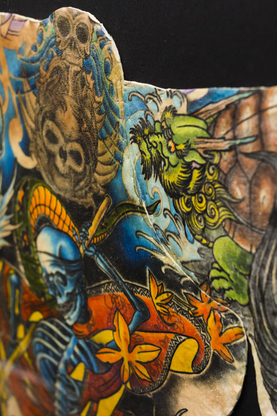 Man finds way to memorialize tattoos