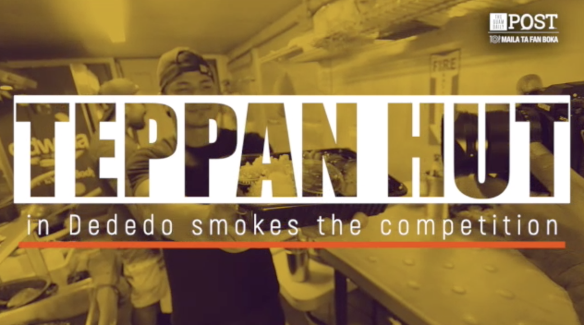 Teppan Hut in Dededo smokes the competition