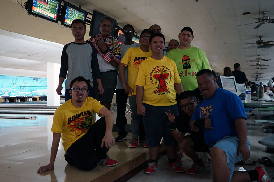 2019 Special Olympics bowling tournament