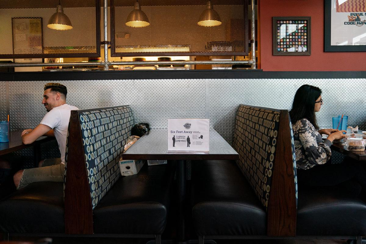 Reopened Restaurants Reveal Dining S New Normal Lifestyle
