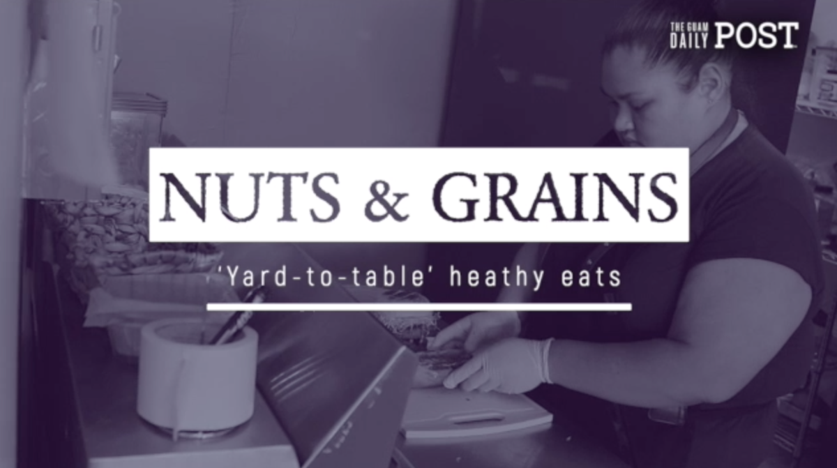 Nuts & Grains: 'Yard-to-table' heathy eats
