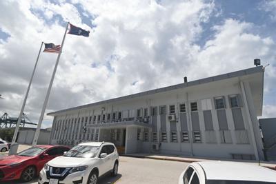 Port worker arrested after bag search allegedly yields drug paraphernalia
